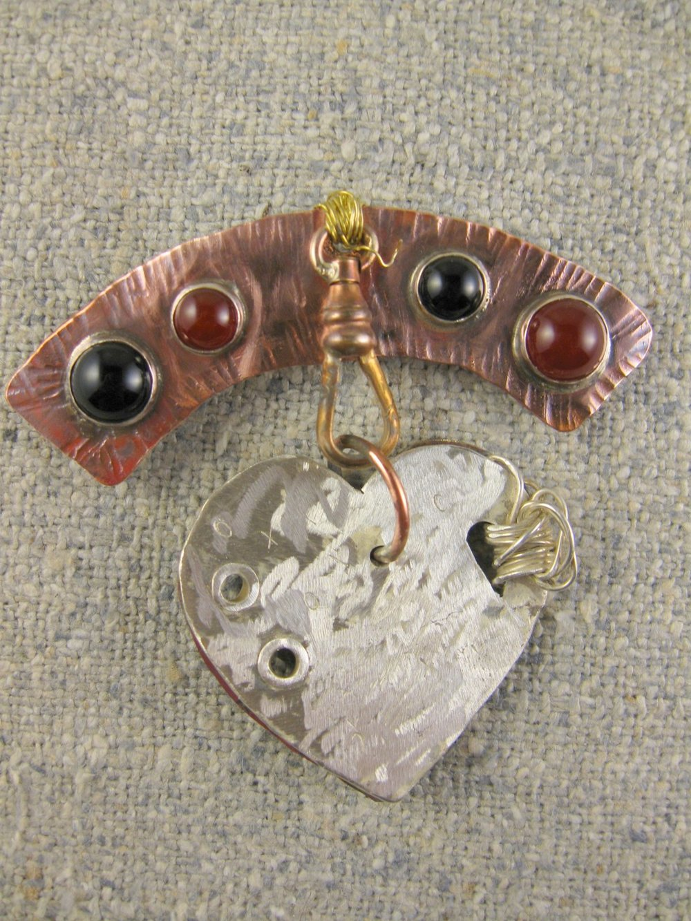 courageous heart pin (side B)