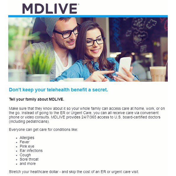 Spread the word! MDLIVE Prime is here for your family! Best part? It's only $11 a month. Enroll at www.beneme.com ✅  Already an MDLIVE Prime member? Refer a friend and receive a complimentary month! 📢 For more information, visit www.beneme.com/blog  #mdliveprime #telemedicine #yourhealthmatters #anywhereanytime #calladoctor #health #healthbenefits #telehealth #telehealthcare