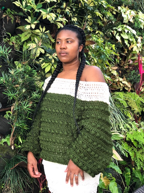 Nkese of @cosmic_crochet_creations