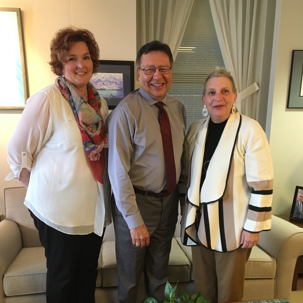 Kim Hollihan -  Canadian Counselling and Psychotherapy Association   Senator Dan Christmas  Vicky Huehn -  PSR RPS Canada