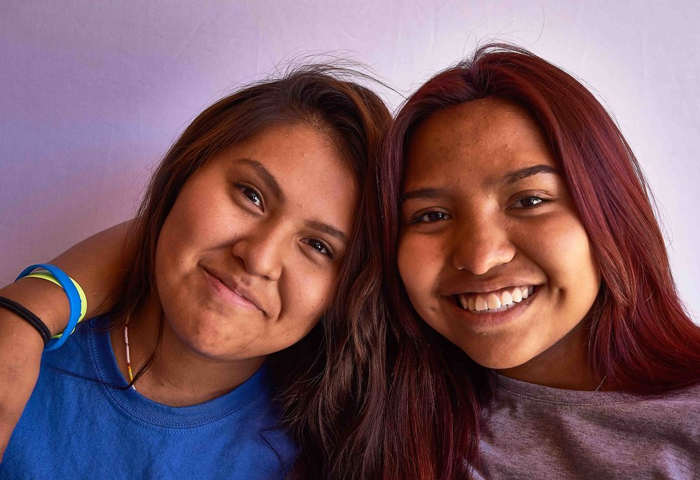 Participants of adolescent health program in Whiteriver, AZ/Fort Apache. Photo credit: Ed Cunicelli