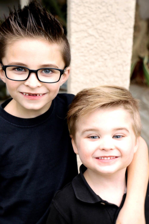 kids after a dental visit