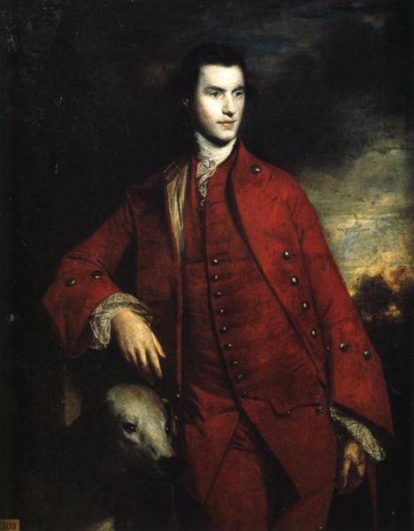 Charles Lennox, 3rd Duke of Richmond  (1758) by Joshua Reynolds. Goodwood House (Chichester, UK).
