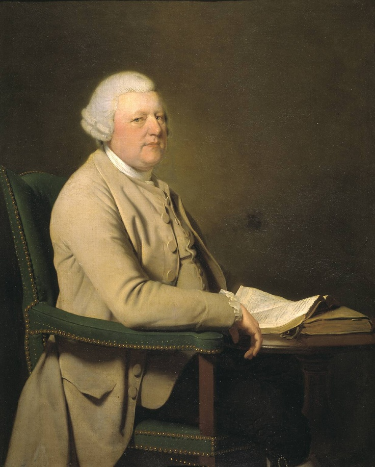 Richard Cheslyn    (1777) by Joseph Wright of Derby. The Tate Britain (London, UK).