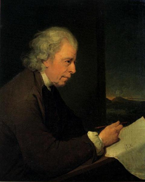 John Whitehurst    (c. 1782-1783) by Joseph Wright of Derby. Private Collection.