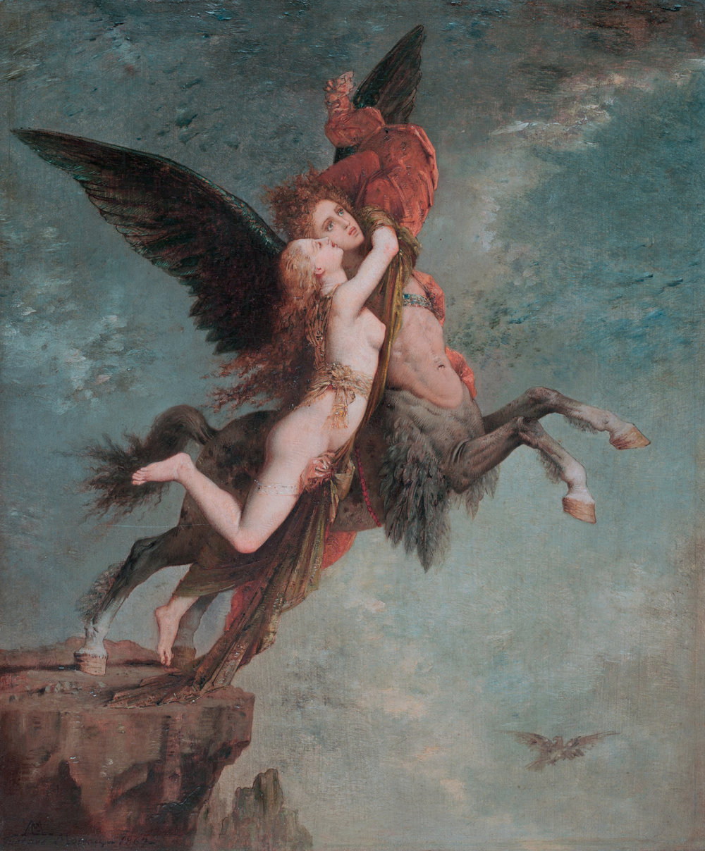 The Chimera (1867)  by Gustave Moreau. The Harvard Art Museums (Cambridge, MA).