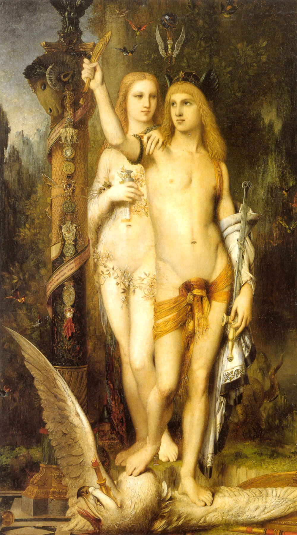 Jason and Medea  (1865) by Gustave Moreau. Musée d'Orsay (Paris, France).