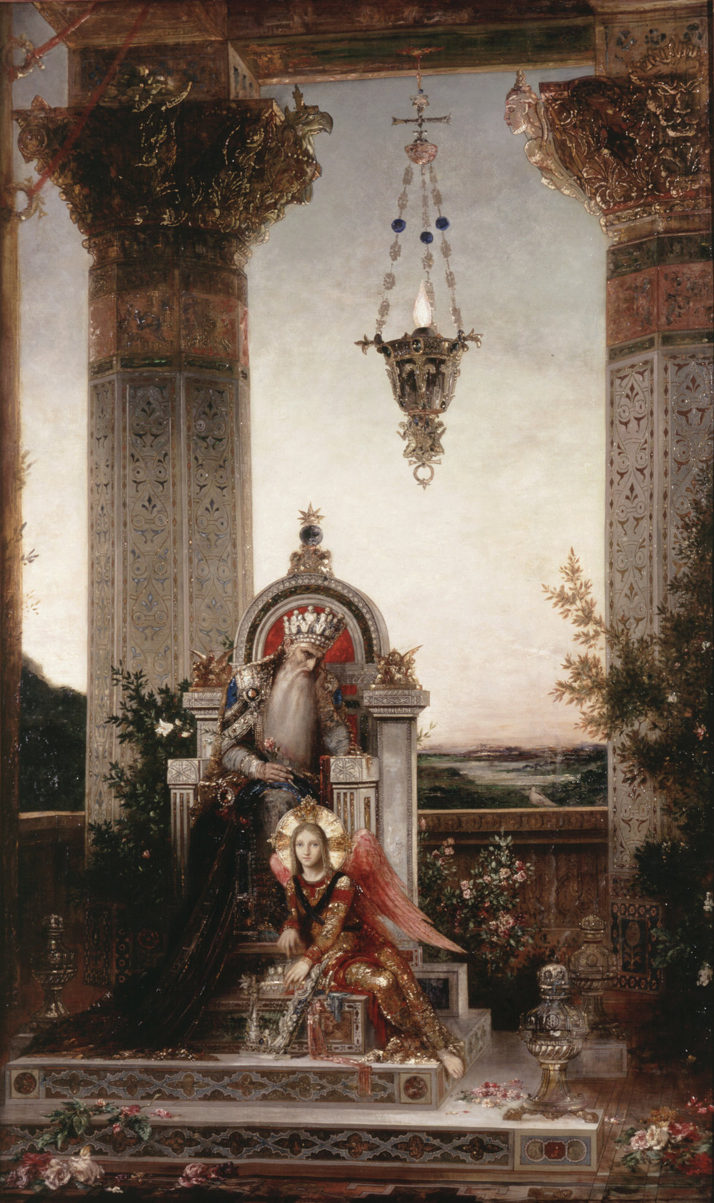 King David  (1878) by Gustave Moreau. The Hammer Museum (Los Angeles, CA).
