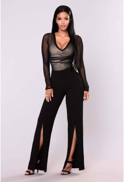 Dance the night away in these sultry pants from American site Fashion Nova.