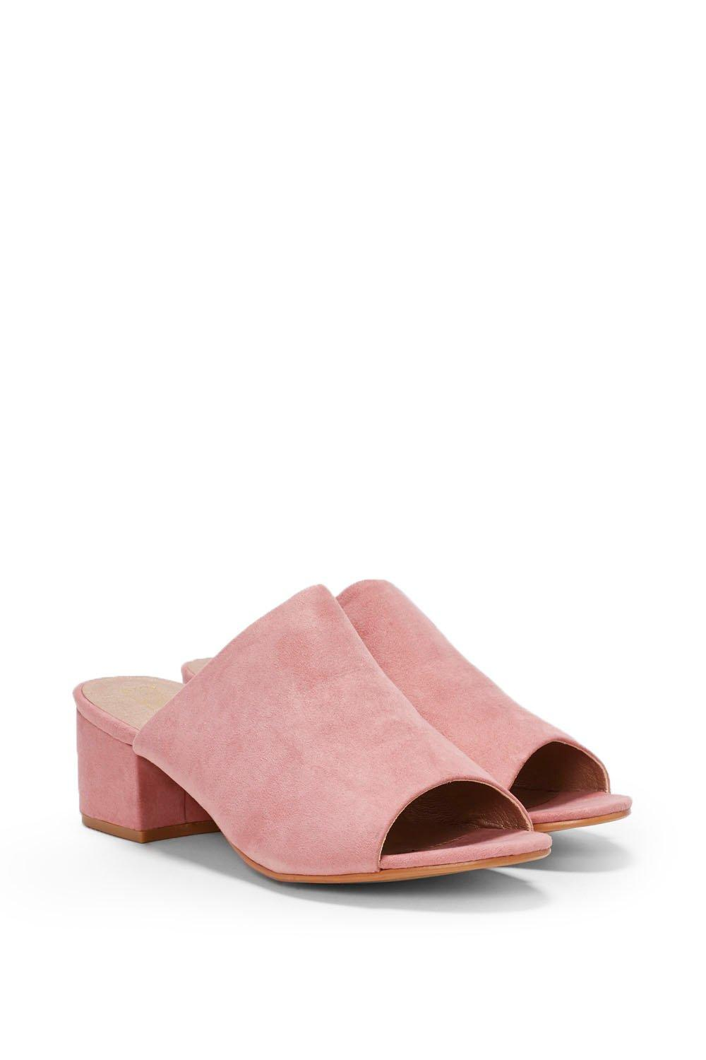 Vegan Suede Mules - Nasty Gal, Into the Groove Vegan Suede Mule, $75.00, Vegan Suede Mules