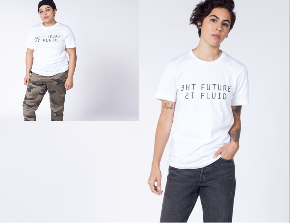 THE FUTURE IS FLUID TEE - Buy Here