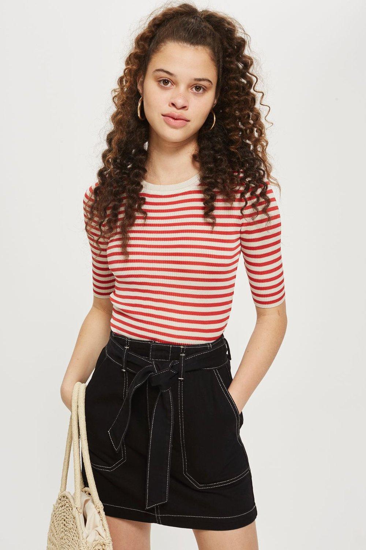 Top Shop Belted Skirt £34.00 -