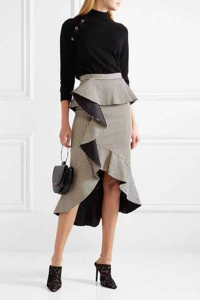 Alice & Olivia Ruffled Skirt$330 -