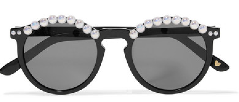 Freda Banana Pearl Sunglasses$405 -