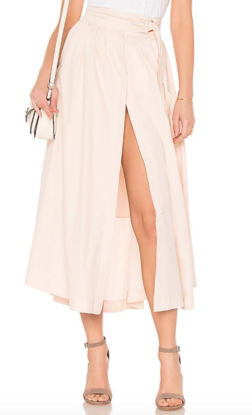 Free people Dream Of Me Midi Skirt$166.15 -