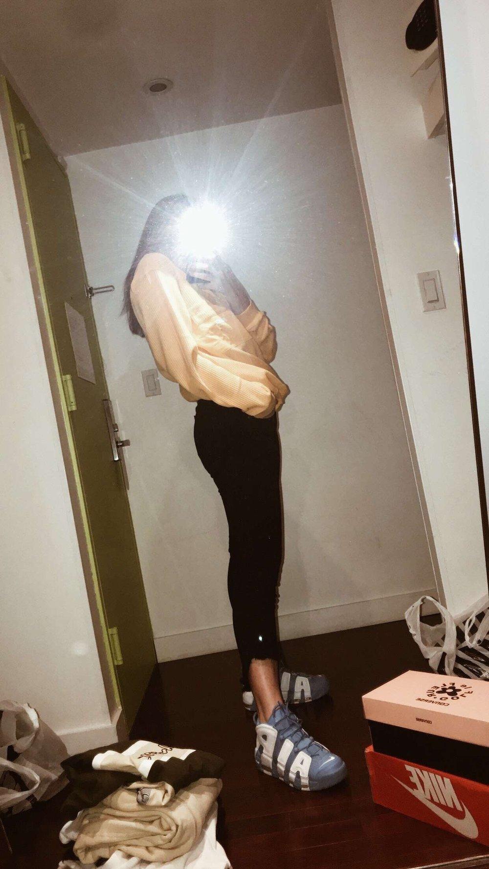Palace hoodie, rag and bone jeans