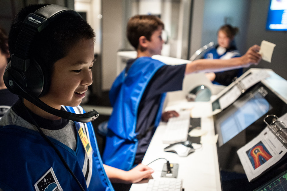 WIN A FREE SIMULATED SPACE MISSION! - If you already have plans for STEM Week, let us know and you will be entered to win a FREE simulated space mission at the McAuliffe Center