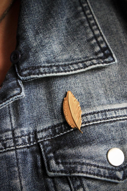 Cancer Survivor Feather Pin