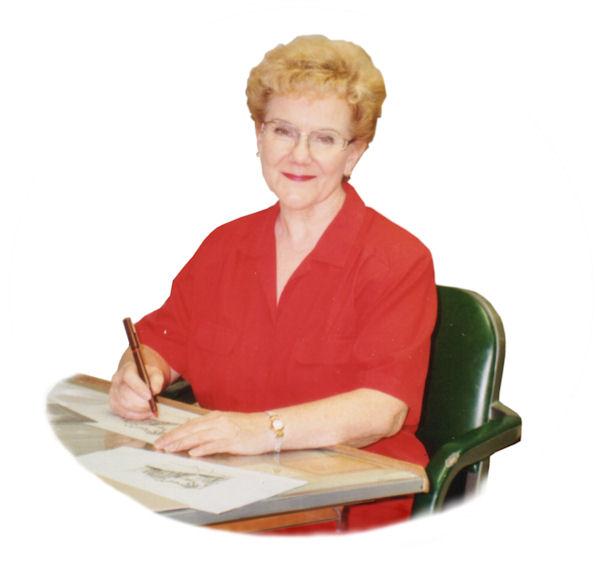Gail Ring, artist, photo from Diakonos Designs