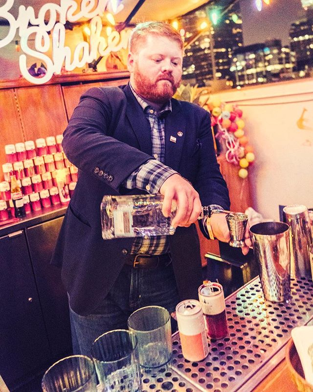 Throw back to @nickdetrich making some killer Nomikai cocktails at the Broken shaker in LA  Photo credit @acocktailoftwocities and  @bevcon2019
