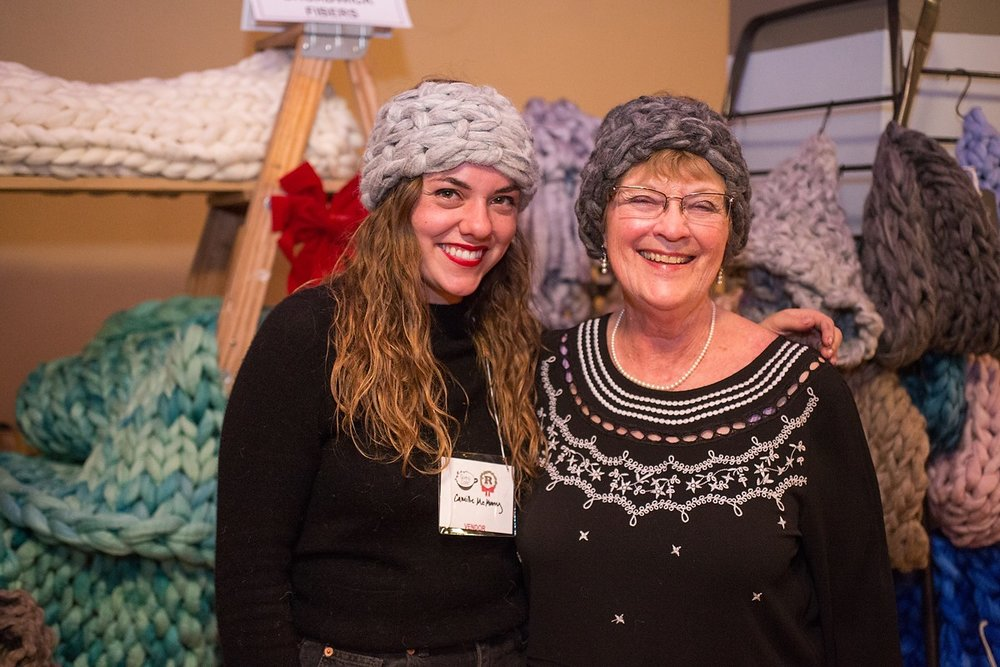Broadwick fibers - We turn luxurious noble fibers into beautiful home goods and give back to our community in the process! We are committed to hiring refugees now living in our local community because we believe in the healing and unifying power or creativity and kindness.Photo by Danielle Lirette