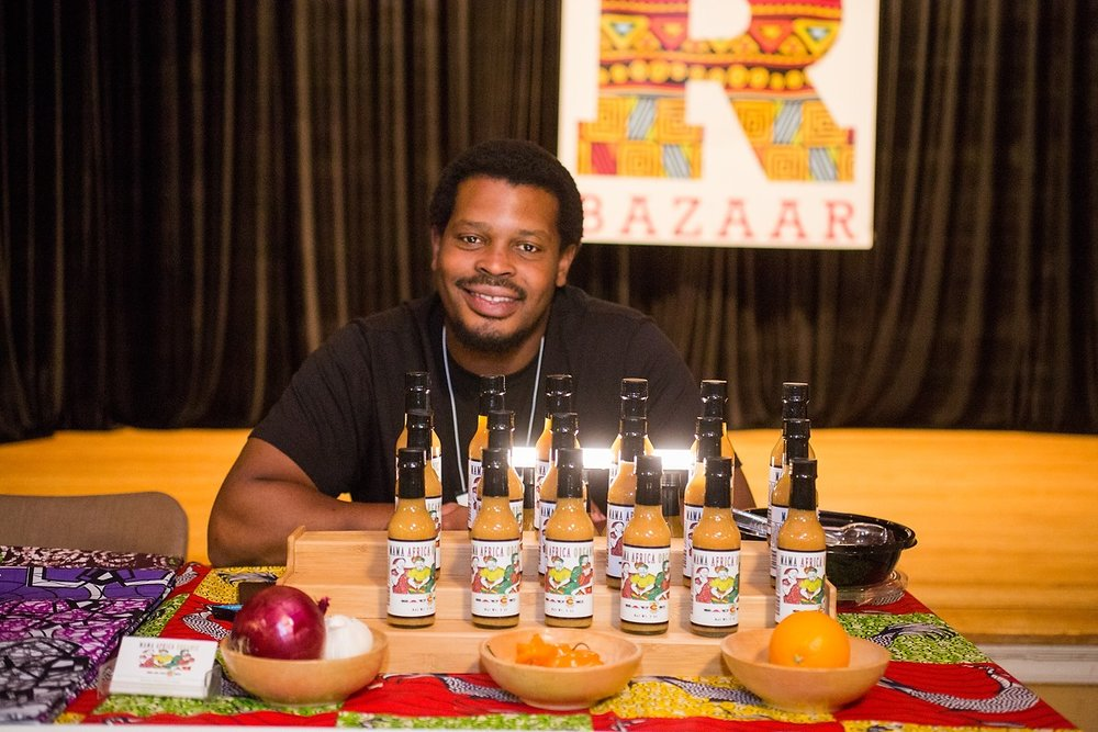 Mama Africa OrganicHot Sauce - Mama Africa Organic's purpose is to bring you the freshest, healthiest, eco and socio-conscious Gourmet Habanero Hot Sauce. Photo by Danielle Lirette