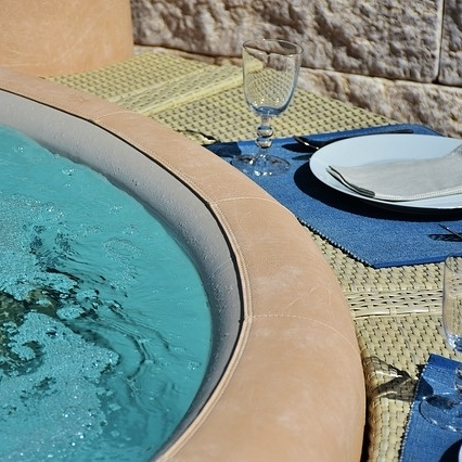 Spilled food and beverages has been the reason for many a spa drainings.