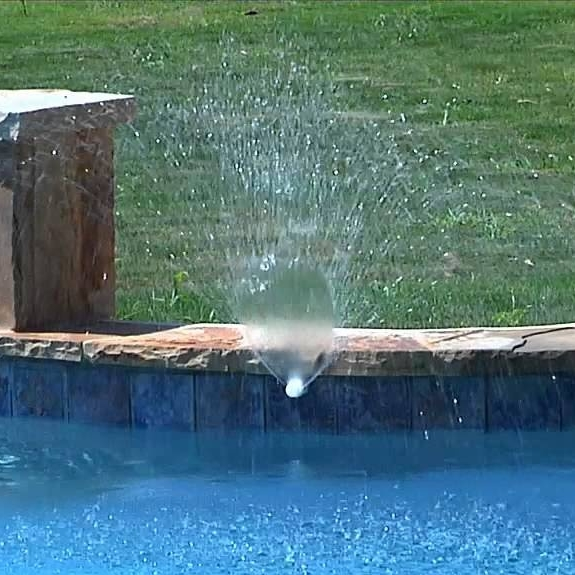 This used to be the only water feature available for your pool.