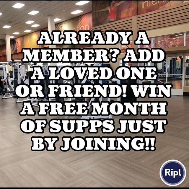 Add a loved one or friend to your membership and be entered to win a month of supps!! #ventura #805