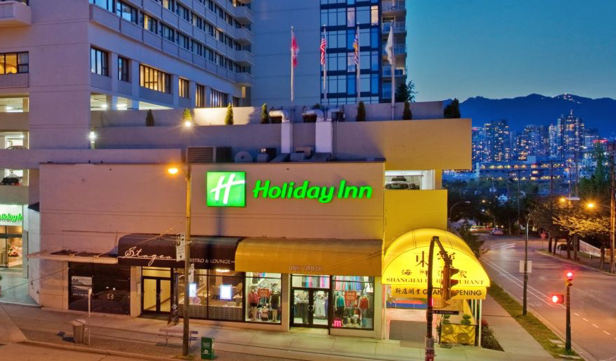 Holiday Inn Vancouver-Centre - 711 W. Broadway @ Heather Street, Vancouver, BC V5Z 3Y2(604) 879-0511
