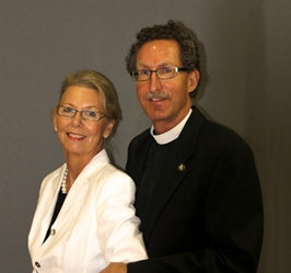 Rev. Brian McVitty and his wife Diane