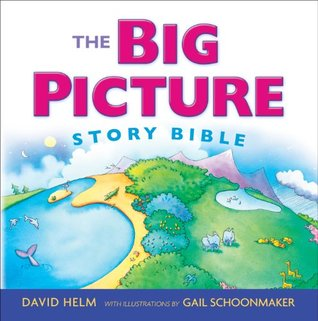 The Big Picture Story Bible - David HelmAges 5+Simple words and striking illustrations unfold the story line of God's Word and His love for the world from Genesis to Revelation. Includes an audio CD