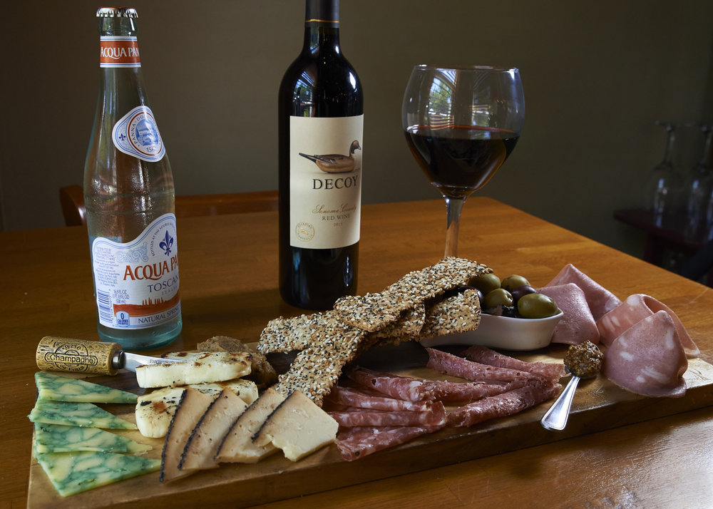 Charcuterie at Taverne of Richfield (Richfield, OH).  Featured in Akronlife magazine.