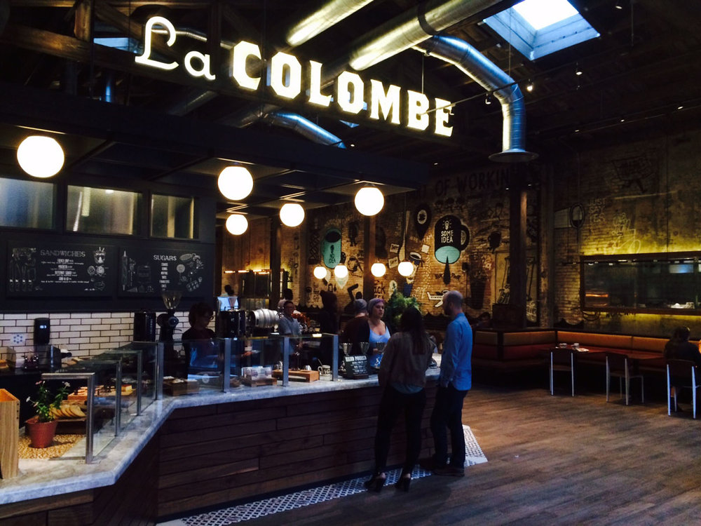 La Colombe Coffee and Distillery in Fishtown.