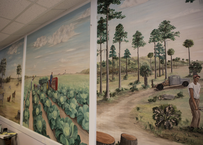 The wall murals Flagler County