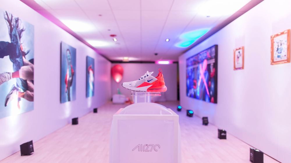 AIR MAX DAY 2018 - NIKE NSW - Strategic Planning, Experiential Ideation & Programming, Brand Space Curation, Design & Build, Customization Operations, Content, Retail Operations