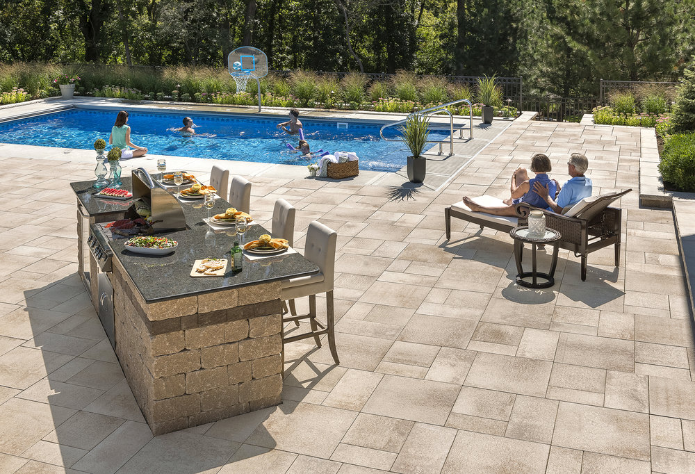 Professional outdoor kitchen design in Harrisburg Dauphin County PA