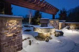 Kichler Landscape - Winter Hardscape