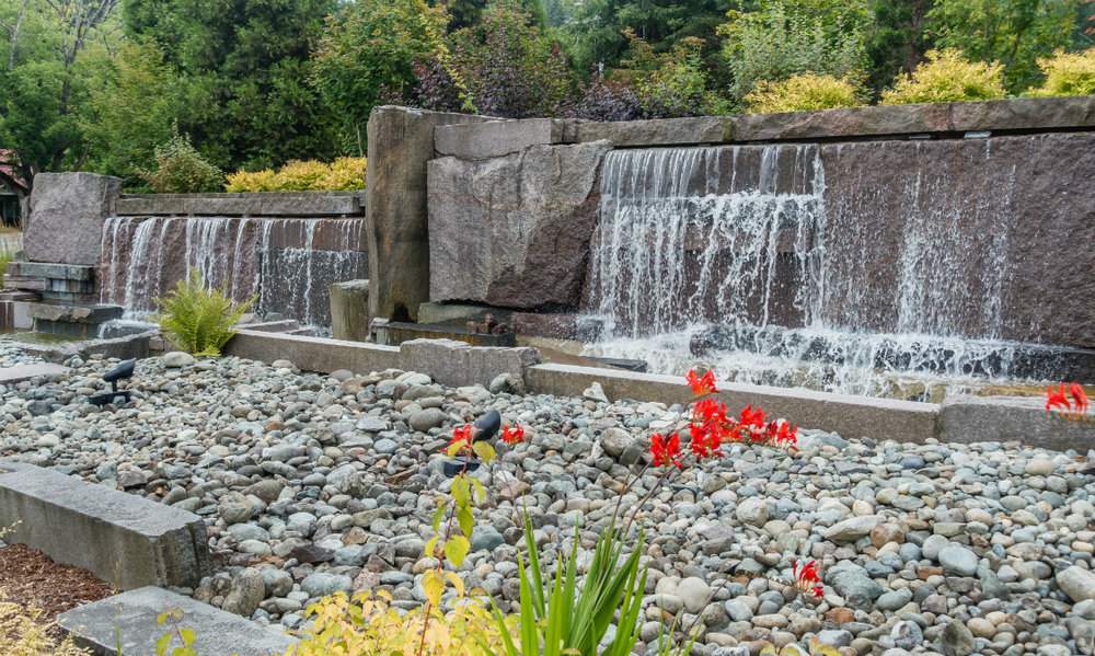 Ideas for integrating Water Features in Retaining Walls in Harrisburg, PA