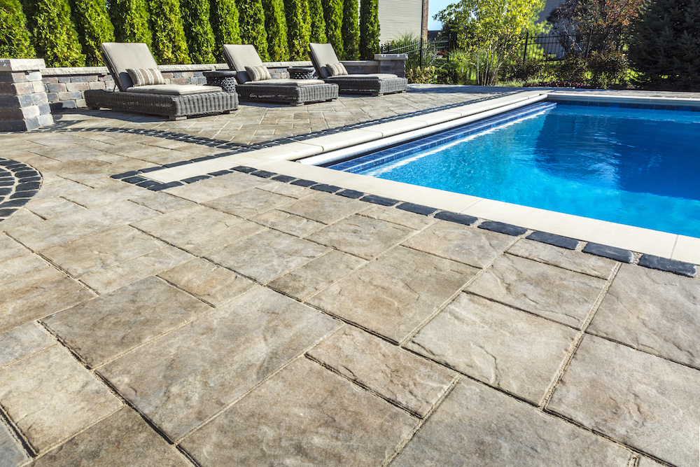 The Best Paver Products from Unilock for Pool Decks in Lancaster PA