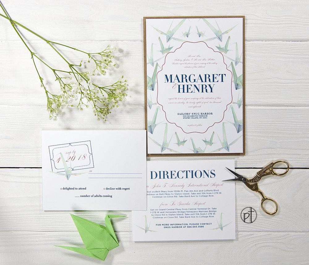personal types custom wedding invitations