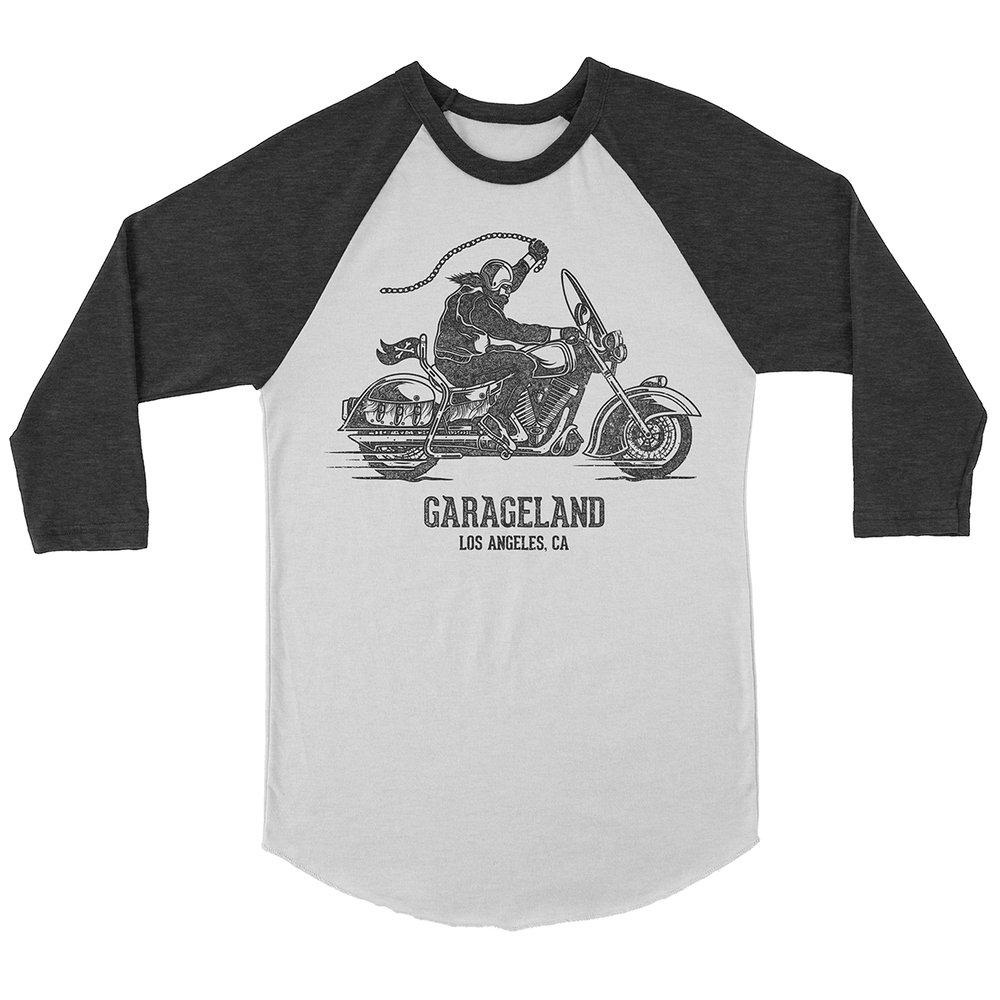 "Apparel Design for ""Garageland"" by Justin Juno | I Make Merch - imakemerch.com"