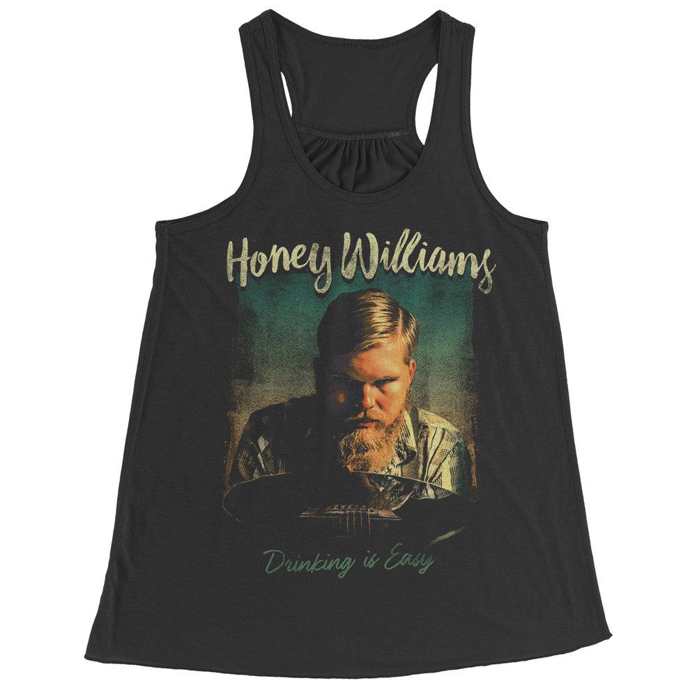 "Apparel Design for ""Honey Williams"" by Justin Juno | I Make Merch - imakemerch.com"