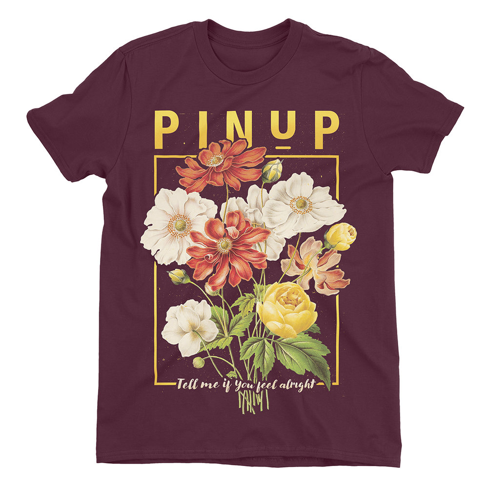 "Apparel Design for ""PinUp Band"" by Justin Juno 