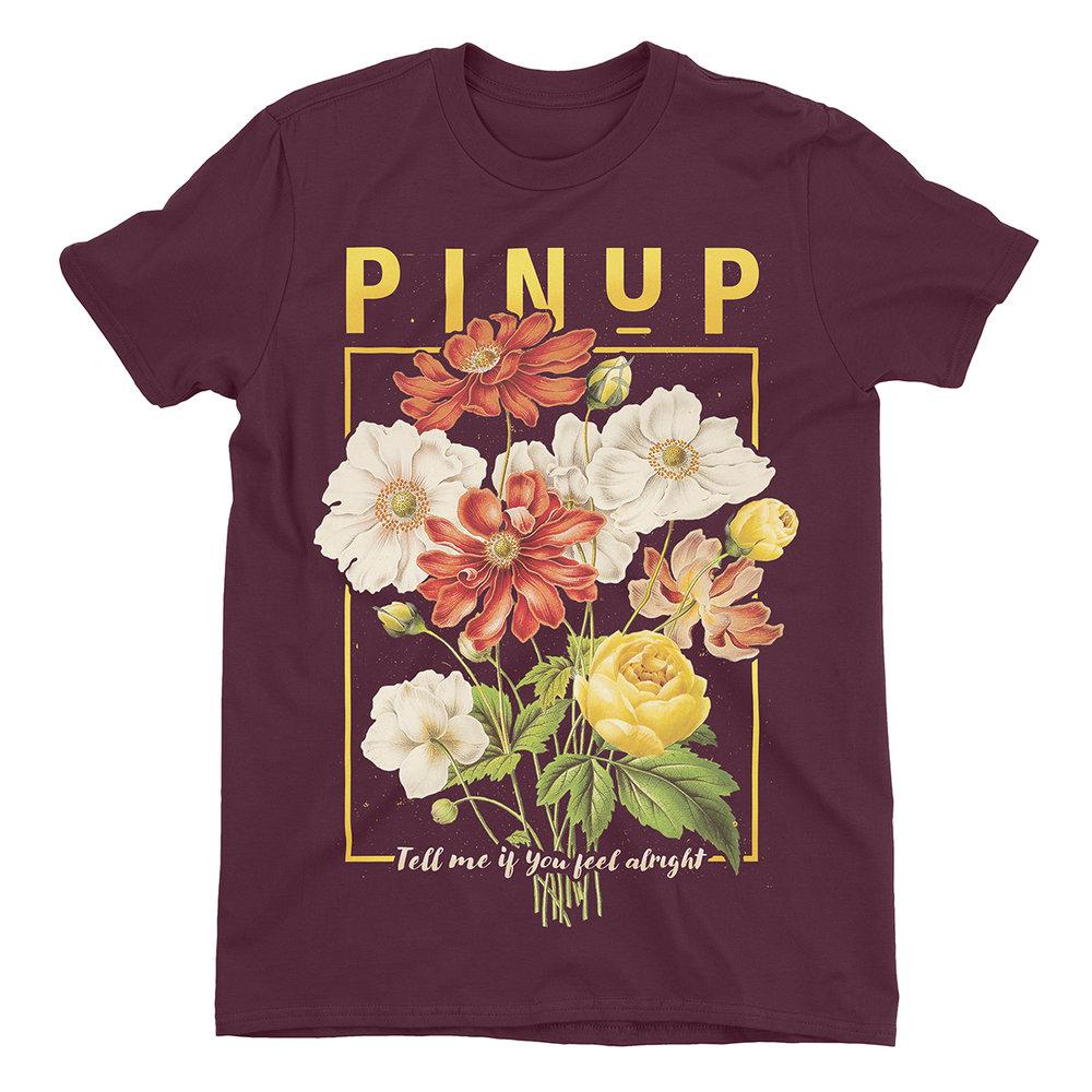 "Apparel Design for ""PinUp Band"" by Justin Juno | I Make Merch - imakemerch.com"