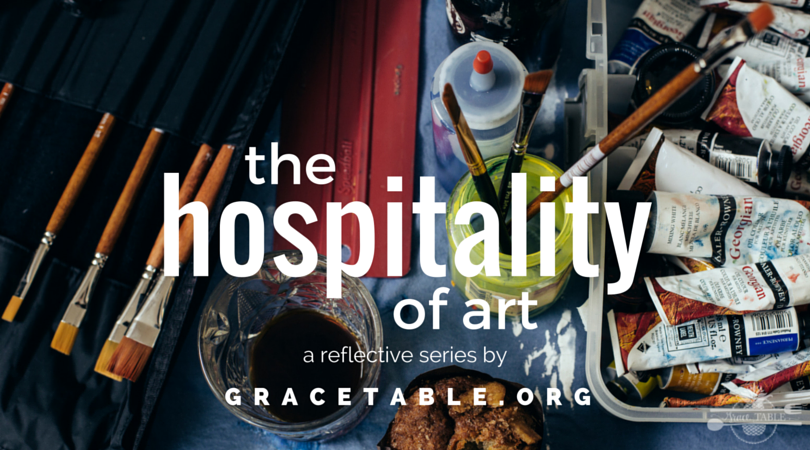 The Hospitality of Art  - a reflective series hosted by the wonderful folks at Grace Table, 2015I was graciously invited to contribute to their Hospitality of Art series. I wrote a piece titled, The Messy in Me Honors the Messy in You.