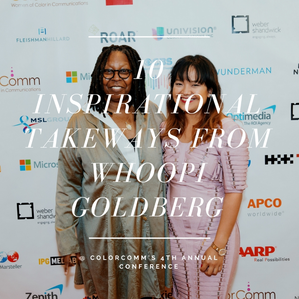 Whoopi Goldberg at ColorComm