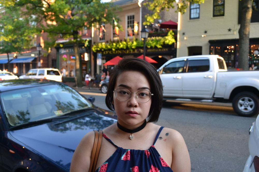 My sister Evita at King Street