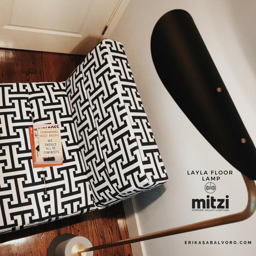Layla Floor Lamp - #MyMitzi #Eri