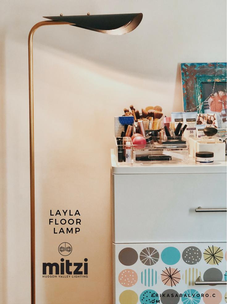 Layla Floor Lamp - #MyMitzi
